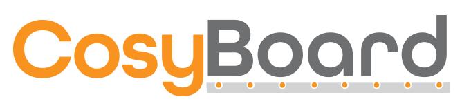 CosyBoard underfloor heating boards logo