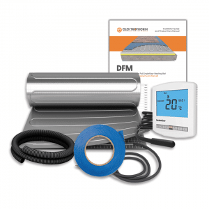 Electrotherm DFM electric underfloor heating system kit