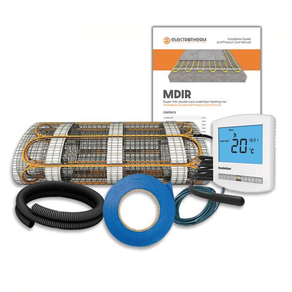 Electrotherm MDIR electric underfloor heating kit for floors