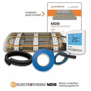 Electrotherm MDIR electric underfloor heating system kit