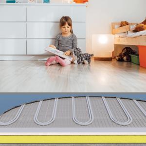 Bedroom Underfloor Heating Kits