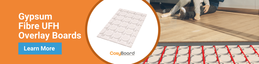 CosyBoard underfloor heating boards