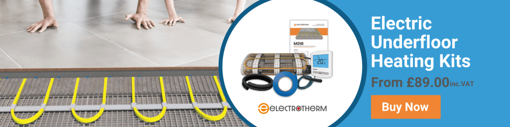 Electrotherm electric underfloor heating kits header image